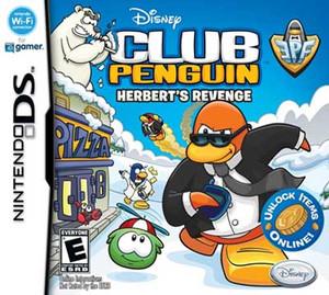 Club Penguin Herbert's Revenge - DS Game