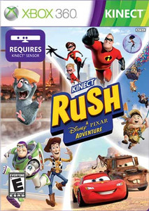 Kinect Rush A Disney Pixar Adventure Xbox 360 Game