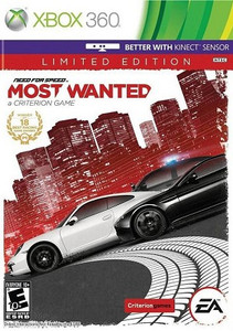Need For Speed Most Wanted Limited Edition Xbox 360 Game