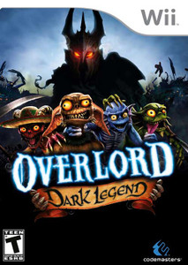 Overlord Dark Legend - Wii Game