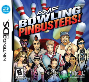 AMF Bowling Pinbusters! - DS Game
