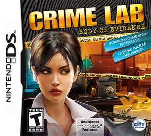 Crime Lab Body of Evidence - DS Game