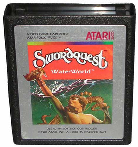 Swordquest Water World - Atari 2600 Game