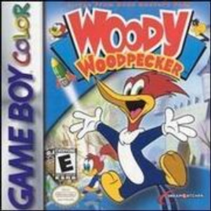 Woody Woodpecker - GameBoy Color Game