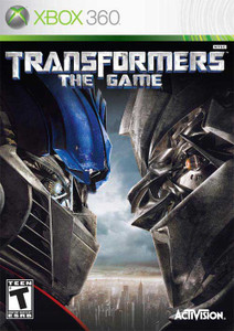 Transformers The Game Xbox 360 Game