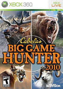 Cabela's Big Game Hunter 2010 - Xbox 360 Game