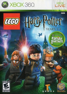 Lego Harry Potter Years 1-4 Microsoft Xbox 360 Game