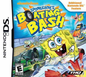 SpongeBob's Boating Bash - DS Game