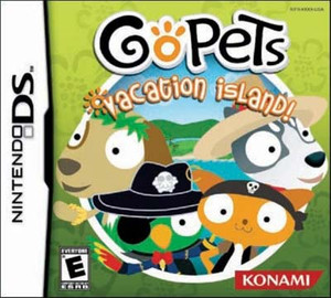 Go Pets Vacation Island - DS Game
