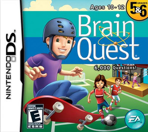Brain Quest Grades 5&6 - DS Game