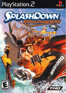 Splashdown Rides Gone Wild PS2 Game