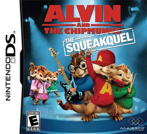 Alvin & The Chipmunks The Sqeakquel - DS Game