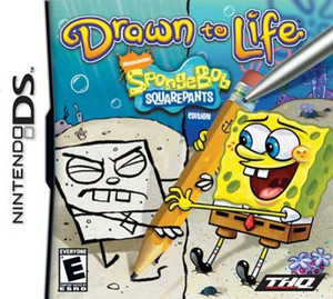 Drawn To Life SpongeBob SquarePants Edition - DS Game