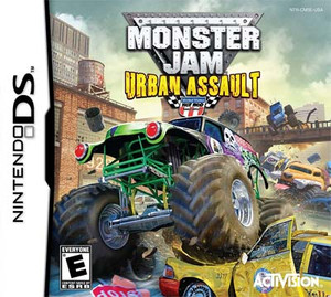 Monster Jam 2 Urban Assault - DS Game