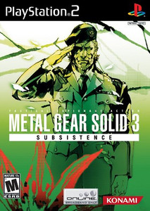 Metal Gear Solid 3 Subsistence PS2 Game