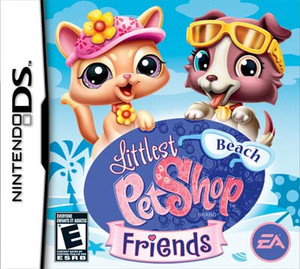 Littlest Pet Shop Beach Friends - DS Game