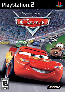 Disney Pixar Cars PS2 Game