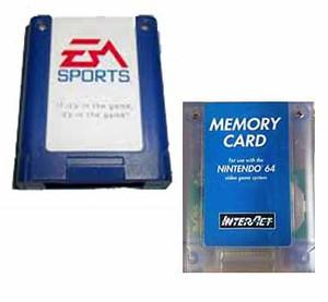 Generic Memory Card - Nintendo 64 (N64)