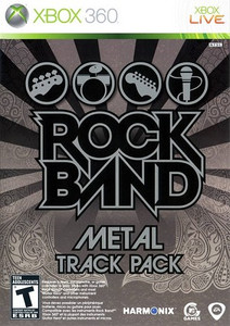 Rock Band Metal Track Pack - Xbox 360 Game