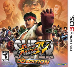 Street Fighter IV 3D Edition - 3ds Game