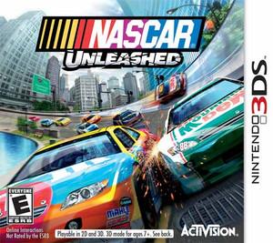 Nascar Unleashed - 3ds game