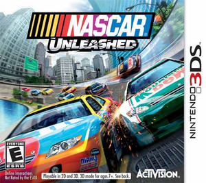 Nascar Unleashed - 3ds game