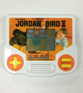 Jordan Vs Bird One on One - Tiger Handheld Game