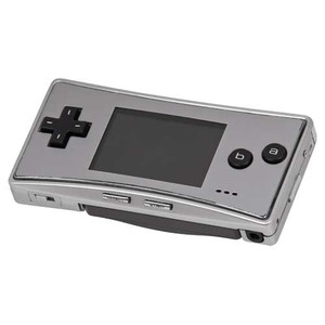 Game Boy Micro Silver Handheld System