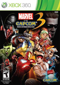 Marvel Vs Capcom 3 Fate of Two Worlds - Xbox 360 Game