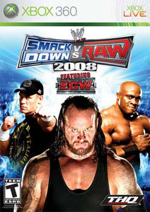 Smack Down Vs Raw 2008 Featuring ECW 360 Game