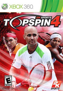 Top Spin 4 - Xbox 360 Game