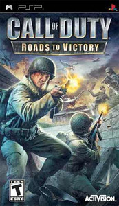 Call of Duty Roads to Victory - PSP Game