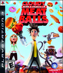 Cloudy with a chance of Meatballs - PS3 Game
