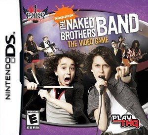 Nickelodeon Naked Brothers Band Nintendo DS Game