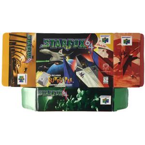 Star Fox 64 - Empty N64 Box Opened