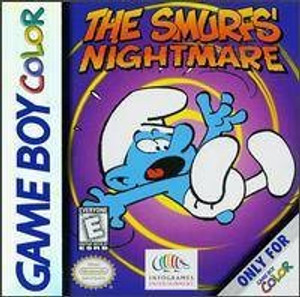 The Smurfs' Nightmare Game Boy Color Game