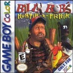 Billy Bob's Huntin' N Fishin' - Game Boy Color Game