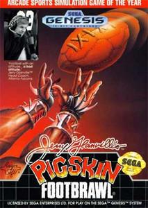 Jerry Glannville's Pigskin Footbrawl Sega Genesis Game