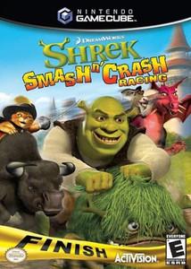 Shrek Smash n' Crash Racing GameCube Game