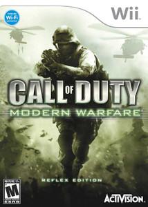 Call of Duty Modern Warfare Reflex Edition Wii Game