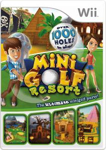 Mini Golf Resort - Wii Game