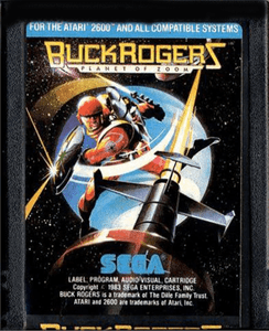 Buck Rogers Zoom - Atari 2600 Game