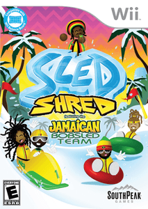 Sled Shred Featuring the Jamaican Bobsled Team - Nintendo Wii Game