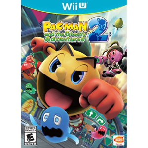 Pac-Man and the Ghostly Adventures 2 Video Game for Nintendo Wii U