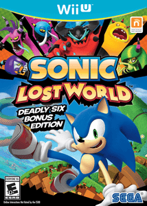 Sonic Lost World - Wii U Game