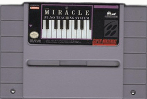 Miracle Piano Teaching System,The - SNES Game