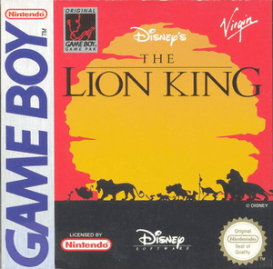 Lion King, Disney's The - Game Boy Game