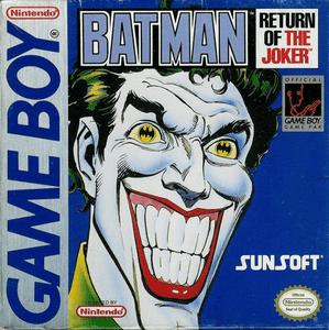 Batman Return of the Joker - Game Boy Game
