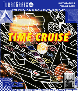 Time Cruise - Turbo Grafx 16 Game
