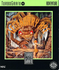 Legendary Axe - Turbo Grafx 16 Game